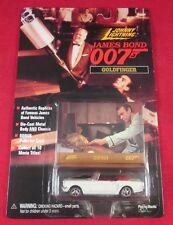 JOHNNY LIGHTNING JAMES BOND 007 GOLDFINGER DIE-CAST & COLLECTOR CARD