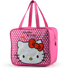 e19a771785 Girls Hello Kitty Lunch Bag Lunch Box Carry Tote Bag School Pouch Bag  Waterproof