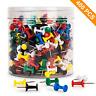 400 Pcs Push Pins Colored Thumb Tacks Plastic Marking Crafts Office Organization