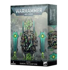 WARHAMMER NECRONS: SZAREKH THE SILENT KING  - NEW/BOX
