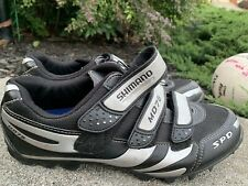 Shimano MO76 Speed  Cycling Shoes Size 44/9.7 Black ECU
