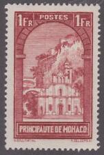Monaco 1933 #120 Church of St. Dévote - MH