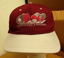 LAFAYETTE STEEL logo baseball hat Detroit embroidery OLYMPIC cap LSP Cleveland