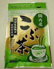 Japanese Kombu Tea KOBU CHA Kelp Tea seaweed Konbu powder 80g x 20 from Japan
