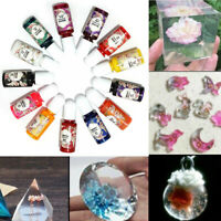 13 Bottles 10g Epoxy UV Resin Coloring Dye Colorant Pigment Mix Color DIY