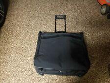 "Hartmann 41"" black ballistic Nylon New Rolling garment bag"