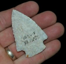 CORNER NOTCH MISSOURI AUTHENTIC INDIAN ARROWHEAD ARTIFACT COLLECTIBLE RELIC*