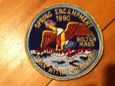 Boy Scouts BSA Soar with the Eagle Spring Encampment 1990 Scout Camporee Patch