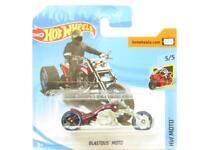 Hotwheels Blastous Moto Red HW Moto 179/365 Short Card 1 64 Scale Sealed New