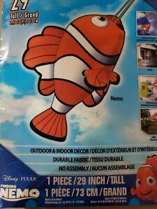 Finding Dory Nemo Clown Fish Windsock Kids / Child's Bedroom Disney's Pixar