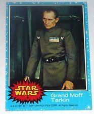 STAR WARS original 1977 trading card # 8 PETER CUSHING/GRAND MOFF TARKIN