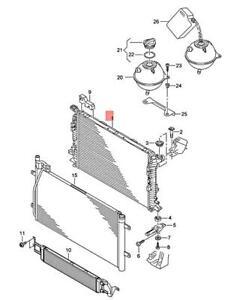 Genuine AUDI RSQ3 8UB Cooler For Coolant 8U0121251C