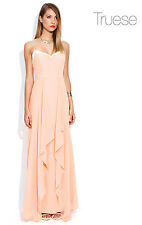 Truese Glorify Maxi Formal Dress Long Maxi Silk Floaty Free Shipping Size 8