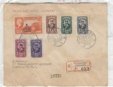 Suriname 1945 FDC Multi Stamp To Paramaribo Scarce Postal History J3476