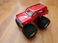MAJORETTE SPECIAL 1/64 - METALLIC CHROME RED DIECAST MONSTER TRUCK NO.2013-2016