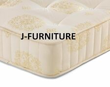 4ft6 Double Luxury Orthopaedic 25cm Deep Firm Mattress. Top Deal