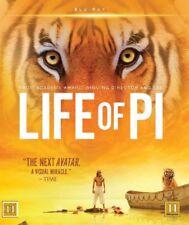 Life of Pi Blu Ray (Region A,B)