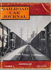 Railroad Car Journal 1972 Gondolas Waggons Fotos Informationen Kratville