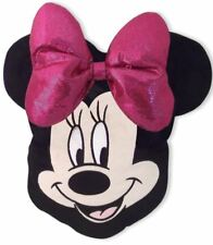 DISNEY MINNIE MOUSE HEAD SHAPED FILLED CUSHION PILLOW