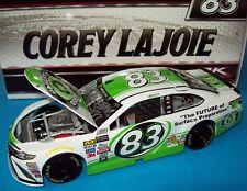 Corey LaJoie 2017 Dustless Blasting #83 Signed Autograph 1/24 NASCAR Diecast