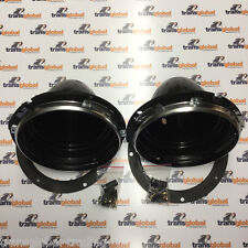 "Land Rover Série 2 2 A 3 7"" projecteur Light Bowl Kit x2-Bearmach-BA 051"