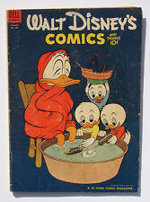 Walt Disney's Comics and Stories #160 1954 Donald Duck Barks -c/art Tom Fears ad