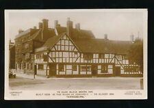 Gloucestershire Glos TEWKESBURY Ye Olde Black Beare Inn c1910/30s? RP PPC