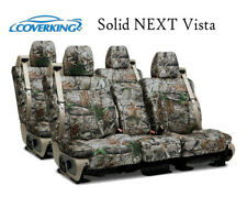 Coverking Custom Seat Covers Neosupreme Front and Rear Row Row - Solid NEXT Vist
