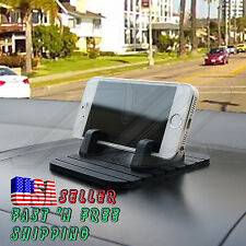 Universal Silicone Pad Dashboard Non-slip Mat Cell Phone GPS Cradle Stand Holder