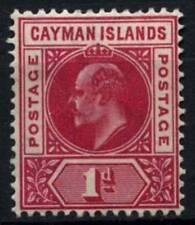 Cayman Islands 1905 SG#9, 1d Carmine KEVII MH #D56711