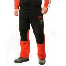 Oregon SuperComfort Chainsaw Trousers Type A Classic Red Black Breathable - XL