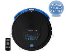 Robot aspirador - Rowenta Explorer 20 Aqua (RR6875), Autonomía 150 min,