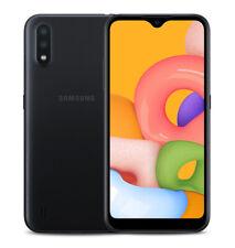 Total Wireless Samsung Galaxy A01 4G LTE Prepaid Smartphone - Black - 16GB