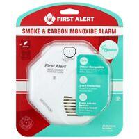 First Alert Smoke Detector and Carbon Monoxide Detector Alarm   Z-Wave 1039833