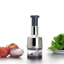 Pressing Kitchen Stainless Vegetable Garlic Onion Slicer Chopper Cutter FZ