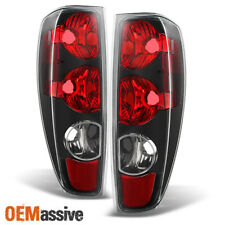 Fit 2004-2012 Colorado Canyon Pickup Black Tail Lights Lamps Assembly Left+Right