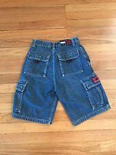 Vintage Tommy Hilfiger Children's Denim Shorts Size 12 Kids Jeans
