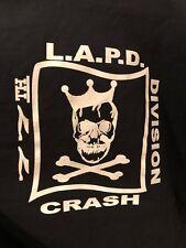 LAPD CRASH police Sheriff GANG Unit 77st Tshirt size XL