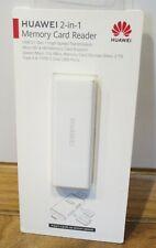 HUAWEI 2-in-1 Memory Card Reader