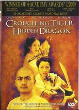 Crouching Tiger, Hidden Dragon (2001 Dvd)
