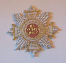 Medieval German Knight Saint Hubert Order Medal Star Bavaria Kingdom Empire HRE