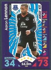 TOPPS MATCH ATTAX 2016-17- #366-EVERTON-AARON LENNON-AWAY KIT