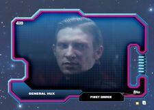 digital GENERAL HUX star wars VILLAINY DATABASE topps RED card trader 50cc tfa