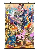 "Hot Japan Anime Super Mario Smash Home Decor Poster Wall Scroll 8""x12"" P255"