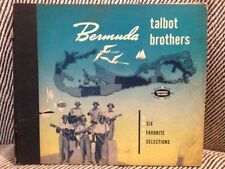 CALYPSO 78 SET 3x78 RPM Set Talbot Brothers Bermuda E- like new