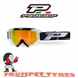 Progrip Goggles Mask 3200 No Fog Anti Scratch Anti UV Venom MX Off Road Goggles