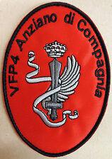 """Toppa/Patch VFP4 ANZIANO DI COMPAGNIA """"187° RGT. PARACADUTISTI FOLGORE"""""""