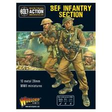 Bolt Action WWII British BEF Infantry Section metal Warlord Games