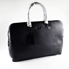 Hugo Boss Men's Leather Briefcase / Bag / Workbag WILHELM #50273205 - Brand New