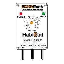 Habistat Mat Stat Reptile Thermostat for control of Heat Mat Temperature